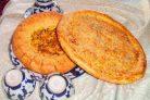 Узбекская лепешка без дрожжей (в духовке)