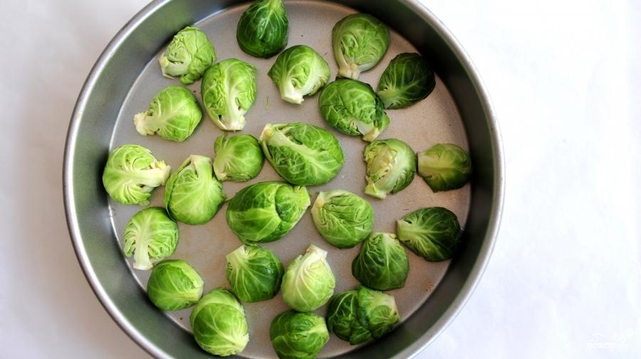 Рецепт Брюссельская капуста в духовке
