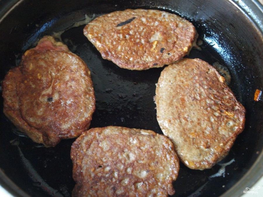 Печеночные оладьи из говяжьей печени - фото шаг 3