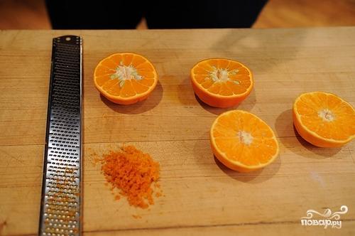 Апельсиновый кекс - фото шаг 3