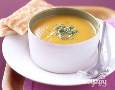 Рецепт Морковный суп с карри