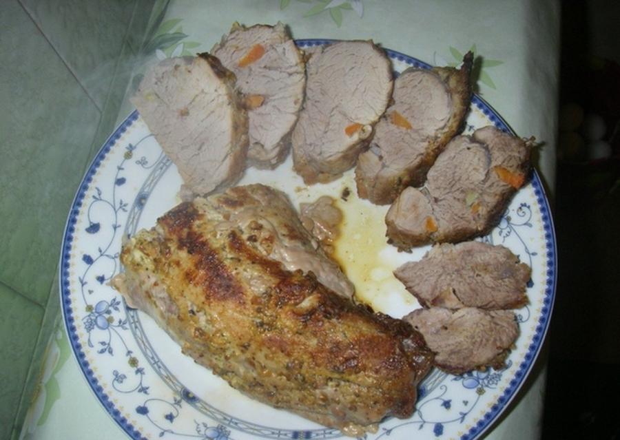 Мясо в фольге в микроволновке - фото шаг 6
