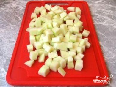 Салат из маринованных грибов - фото шаг 4