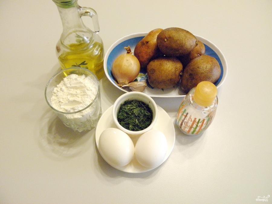 Картофельные оладьи - фото шаг 1