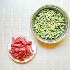 Рецепт Свинина с карри и стручковой фасолью