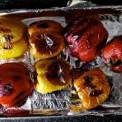 Рецепт Запеченный болгарский перец с каперсами и Моцареллой