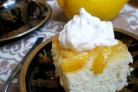 Шарлотка с лимоном