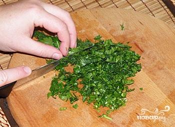 Греческий салат из баклажанов - фото шаг 7