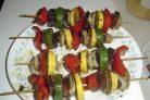 Шашлык из овощей (рецепт маринада)