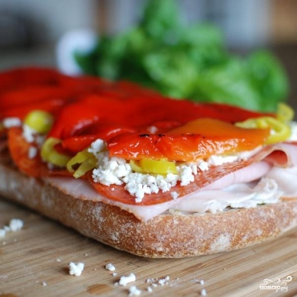 Сэндвич-кирпич - фото шаг 8