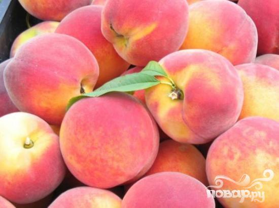 Персиковые шашлыки - фото шаг 1