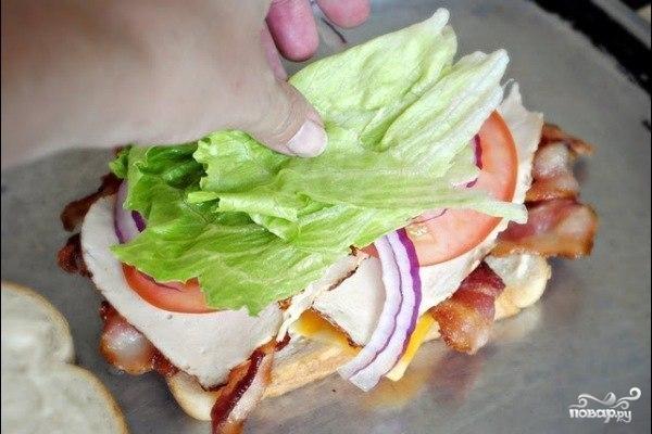 Клубный сэндвич - фото шаг 6