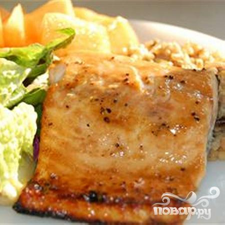 Запеченные филе лосося Дижон - фото шаг 4