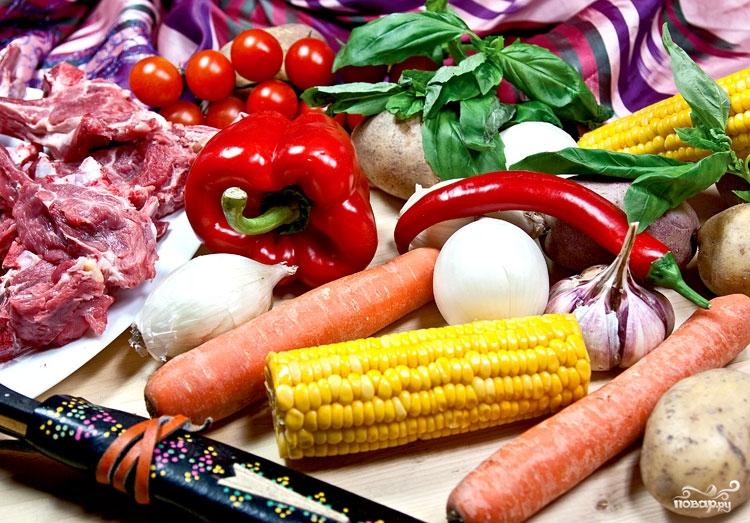 Шурпа из говядины — пошаговый рецепт с фотографиями. Как ...