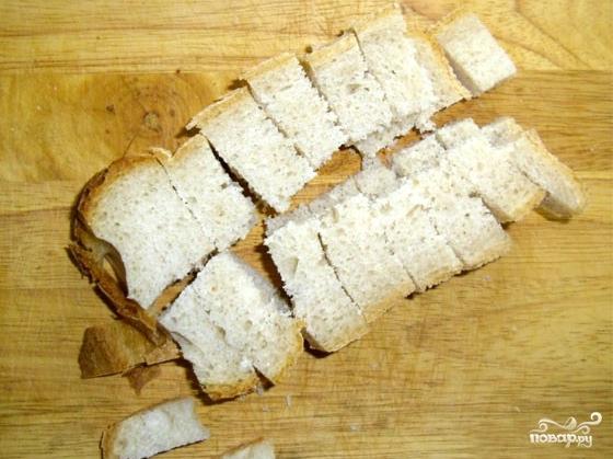 Сухарики в духовке - фото шаг 3