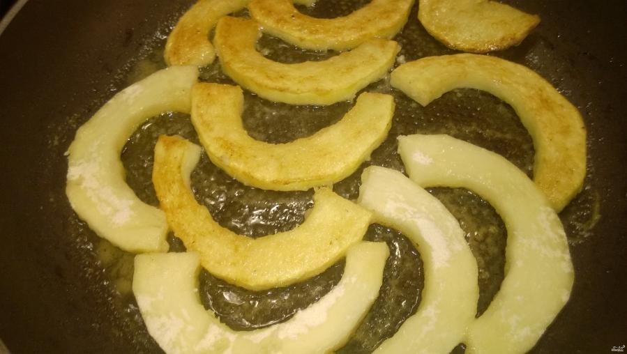 Кабачки в духовке под сметанным соусом - фото шаг 6