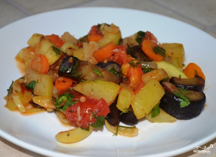 рецепт приготовления соте из кабачков