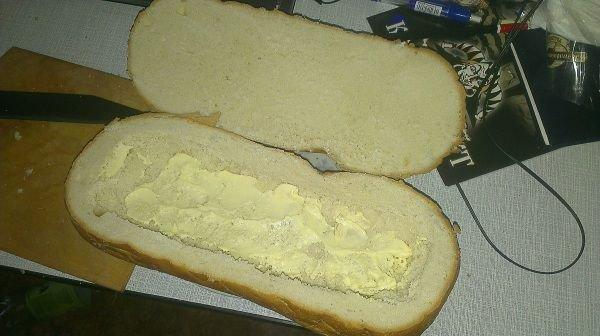 Мужской бутерброд - фото шаг 2