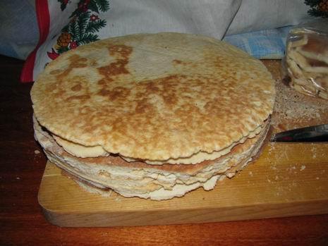 Торт, жареный на сковороде - фото шаг 6
