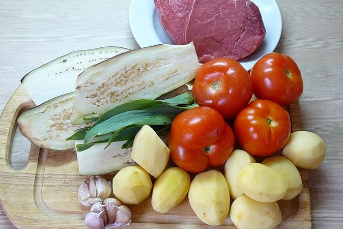 Чанахи из говядины - фото шаг 1