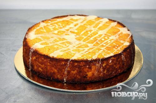 Пирог с клементинами и миндалем - фото шаг 4