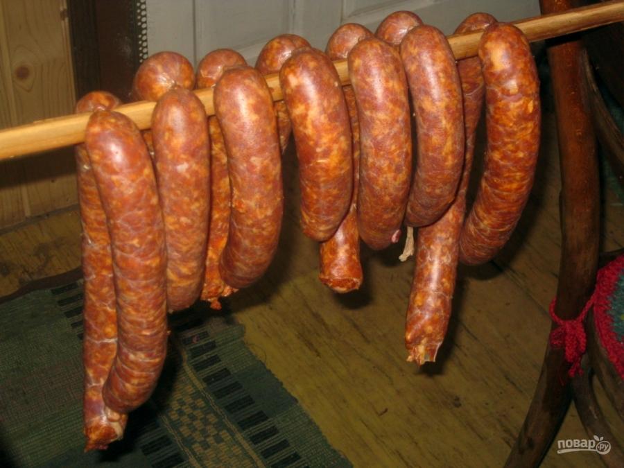 Колбаски в духовке - фото шаг 7