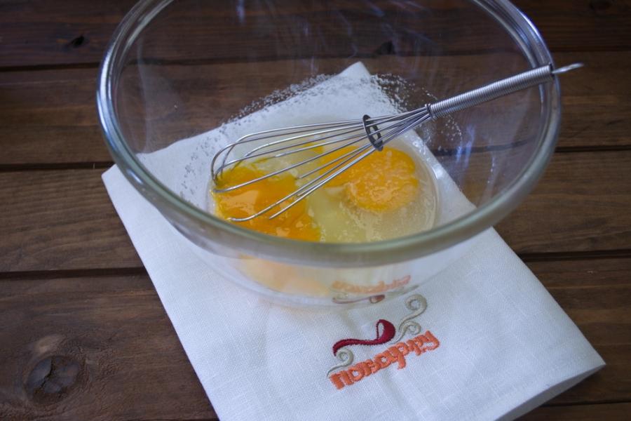 Рецепт Блины с печенью трески