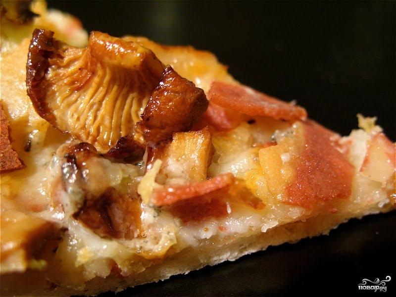 Рецепт Пицца с лисичками