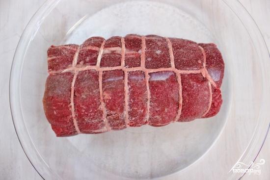Рецепт Запеченная говяжья вырезка