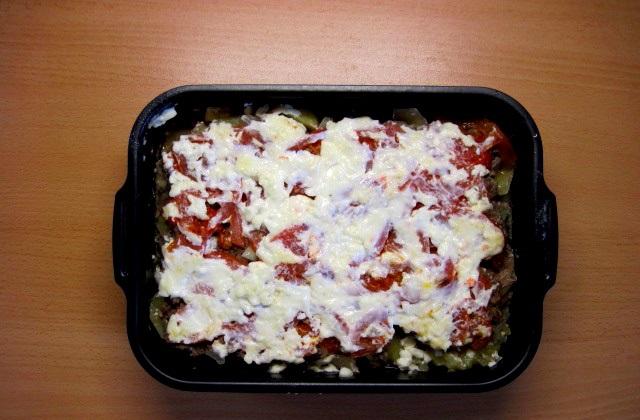 Фарш с помидорами и сыром - фото шаг 7