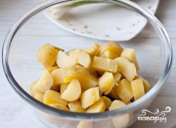 Салат с картофелем и курицей - фото шаг 7