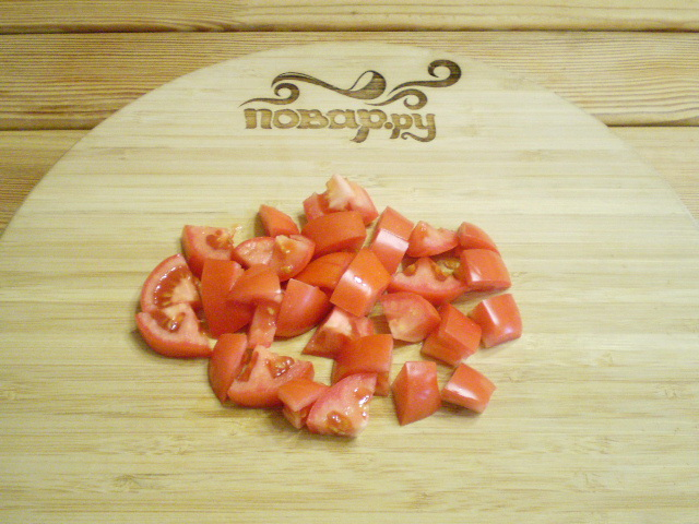 Салат из баклажанов и болгарского перца - фото шаг 3