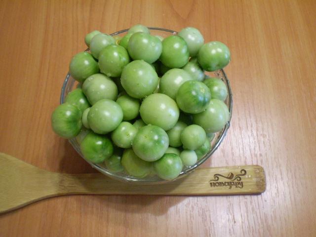 Закатка зеленых помидоров на зиму