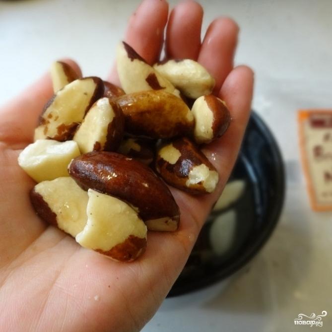 Рецепт Паста из бразильских орехов и сушеных помидоров