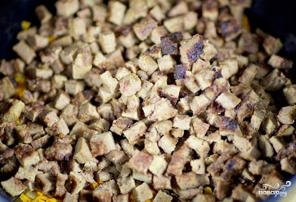 Салат печёночный - фото шаг 6