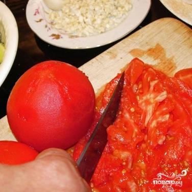 Баклажаны с раздельно обжаренными овощами - фото шаг 5