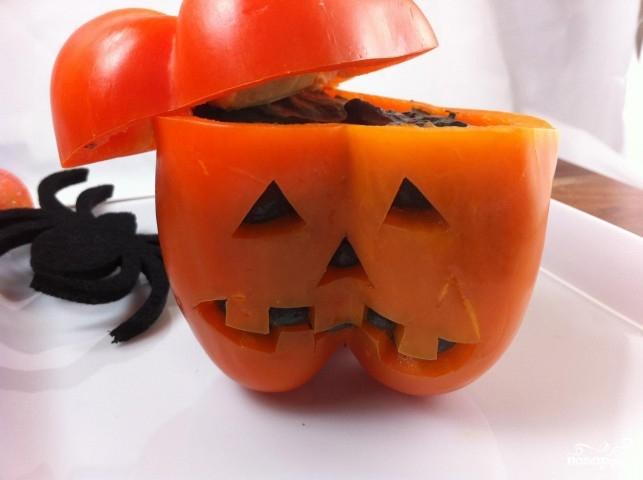 Дип в болгарском перце на Хэллоуин