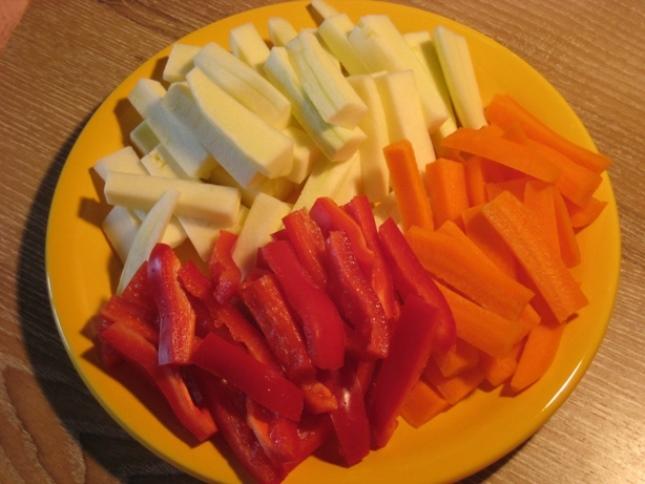 Баранина с овощами в рукаве   - фото шаг 2