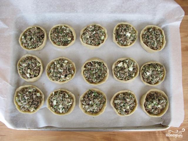 Маленькие пирожки для фуршета - фото шаг 7