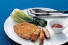 Котлеты из свинины с имбирно-соевым соусом