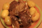 Голени индейки в духовке