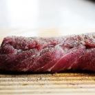 Рецепт Свинина с клюквенным соусом