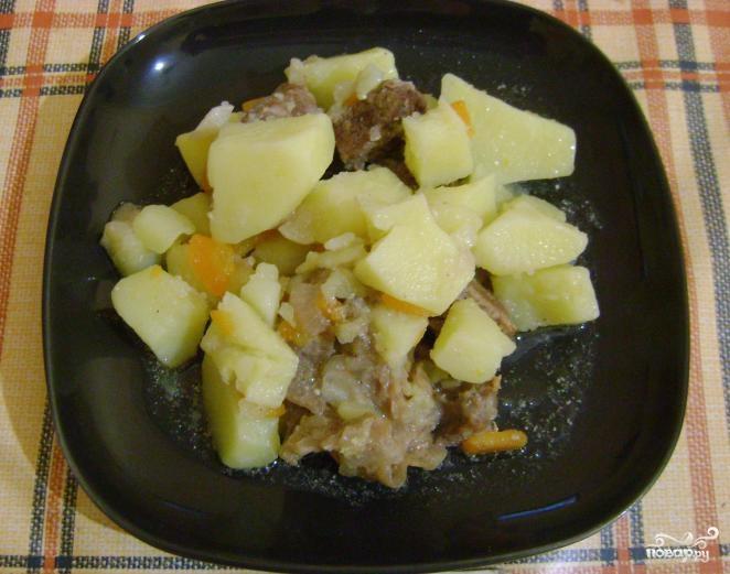 рецепты с картофелем приготовление в мультиварке фото
