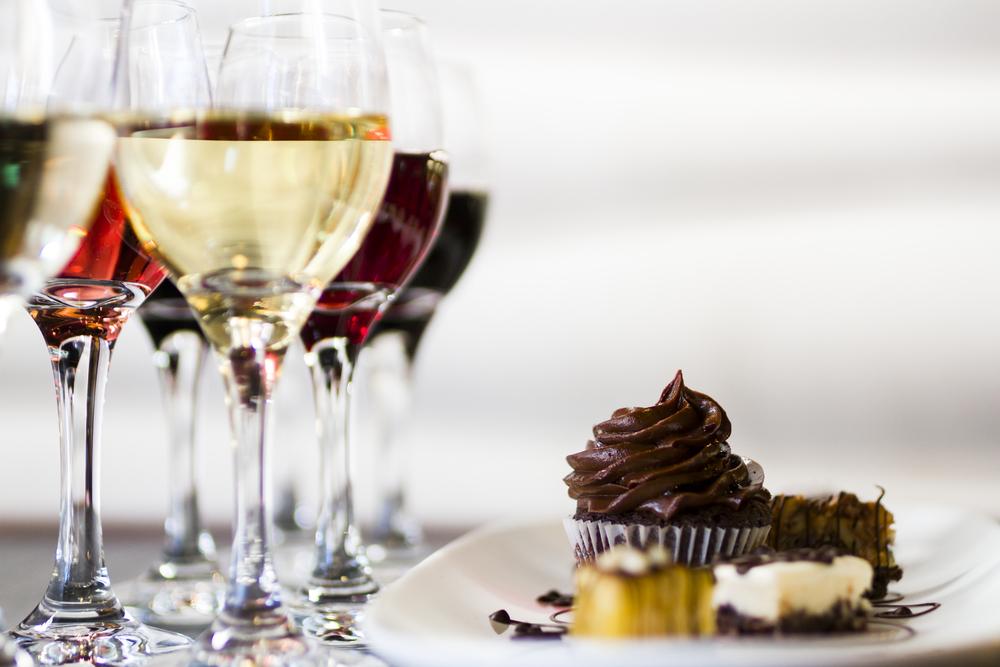 Алкоголь с десертами