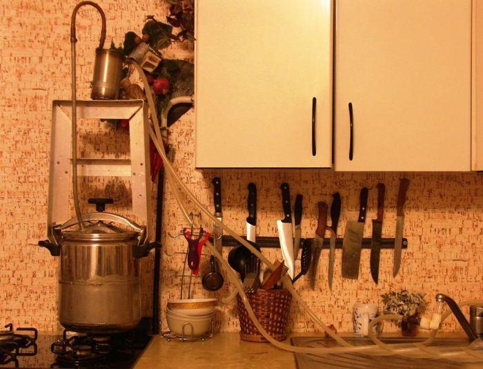 Самогон из варенья в домашних условиях - фото шаг 6