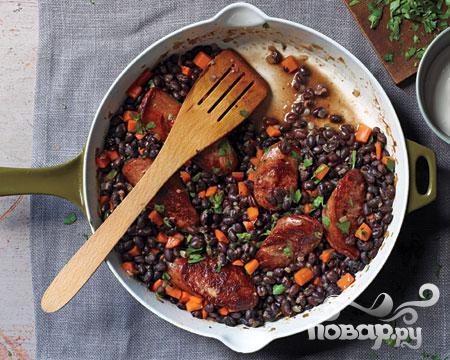 Блюда из черной фасоли рецепты