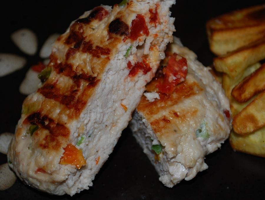 Блюда из фарша куриного индейки  рецепты