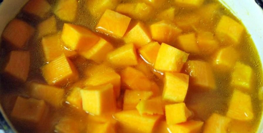 Овощной суп с тыквой - фото шаг 4