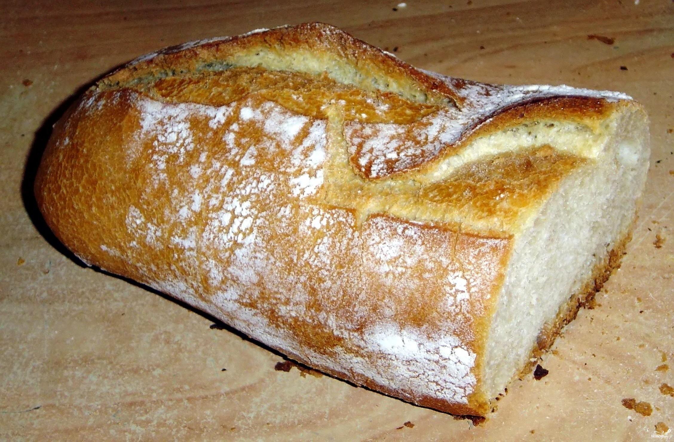 Рецепт Французский хлеб