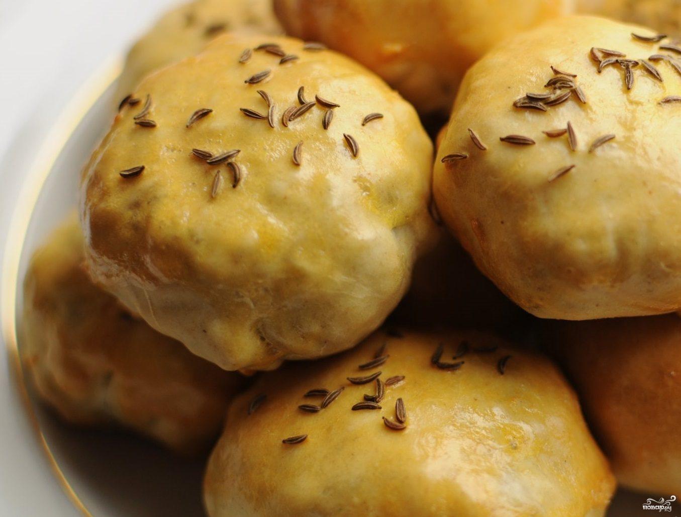 Рецепт Пирожки с картошкой и беконом